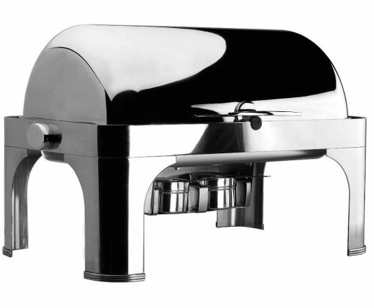chafing dish roll top gn 1/1 pies inox