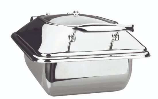 chafing-dish luxe gn 1/2 - 4 lts.