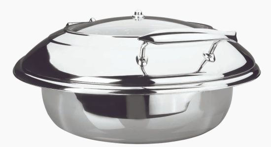 chafing-dish luxe redondo 37 cms. 6 lts.