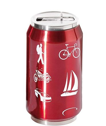 THERMOCAN RED AUTDOORS 280 ML