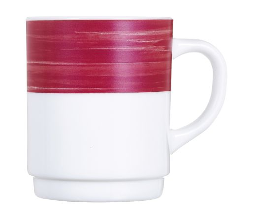 c6 mug 25cl t brush cherry arc